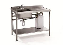 stainless steel laundry sink with drainboard jburgh homes best