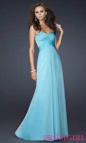 la femme long ruched open back prom dress promgirl