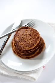 Easy Healthy Pumpkin Pancake Recipe by Vegan Pumpkin Pancakes Minimalist Baker Recipes