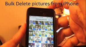 How to bulk delete photos from iPhone 5 5s 6 6s 6sp