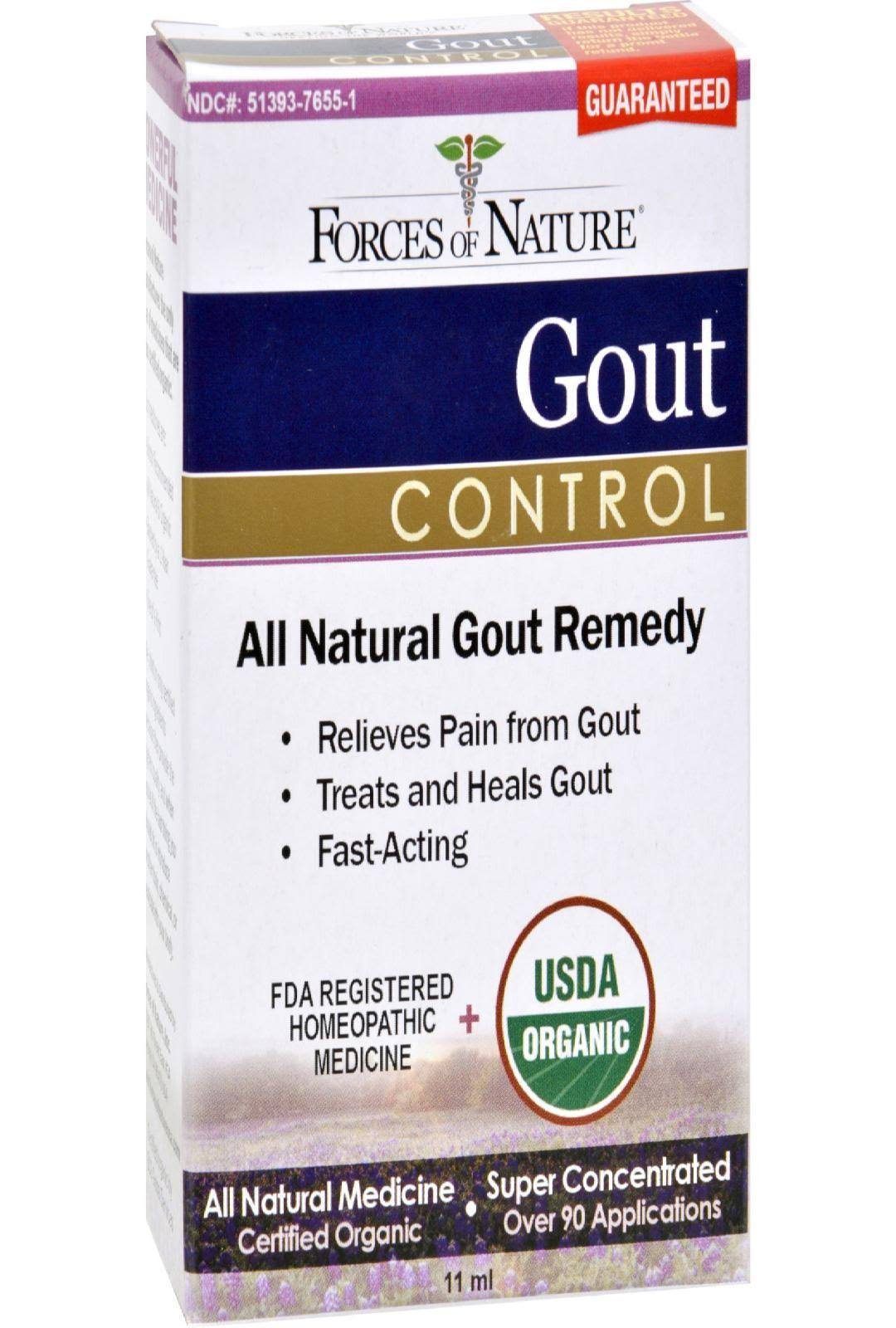 Forces Of Nature Gout Control Relief - 11ml