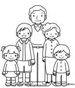 Coloring Pages Family 12 Colouring And Printable Pictures