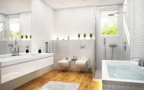 edles für badezimmer parkett in sanitärräumen leber