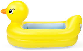 munchkin white inflatable safety tub babies r us