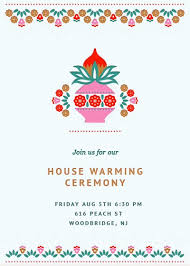 Housewarming Modern Palette Invitation