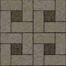 Seamless Patio Tiles Texture