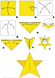 Click To See Printable Version Of How Make An Origami Star Instructions Paper Craft