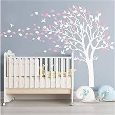 syala wandaufkleber rosa baum mauerdekor kinder wandsticker aufkleber dekoration cherry blossom baum kinderzimmer schlafzimmer baby