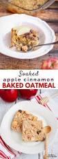 Pumpkin Pie Overnight Oats Rabbit Food by Healthy Breakfast Soaked Apple Cinnamon Baked Oatmeal