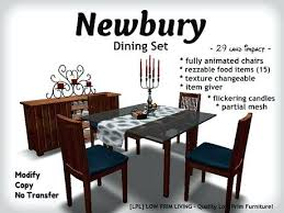 The Living Room Drinks Menu Dining Set W Food Texture Changeable Animated Chairs