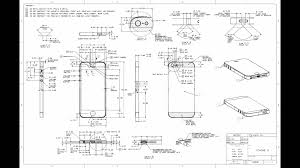 iPhone 5 Blueprints w Metric Dimensions
