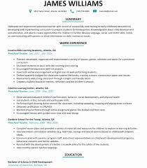 Prek Teacher Resume Beautiful Templates Day Care Center Director Cover Letter
