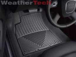 Laser Measured All Weather Floor Mats by Weathertech All Weather Floor Mats Audi A4 S4 Rs4 2009 2016