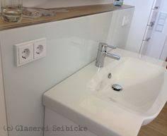 10 glasrückwände ideen spritzschutz waschbecken wand