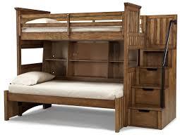 Woodcrest Bunk Beds wood bunk bed manhattan comfort hayden solid pine wood bunk bed