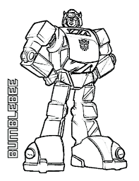 Free Printable Transformers Coloring Pages Online Transformer Vintage Bumblebee Sheets Full Size