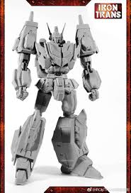 100 V01 Irontrans IR Star Saber Gray Prototype Transformers
