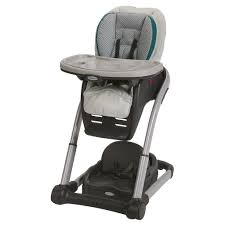 Graco Blossom 4-in-1 Seating System Convertible High Chair, Sapphire ...