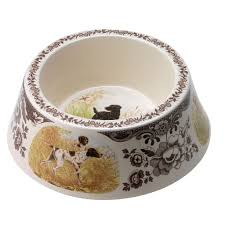 Spode Christmas Tree Village Cookie Jar by Spode Woodland Hunting Dogs Dog Bowl All Dogs My Dream Home