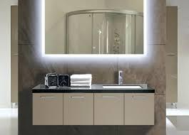 lighted bathroom mirrors wall bathrooms design led vanity