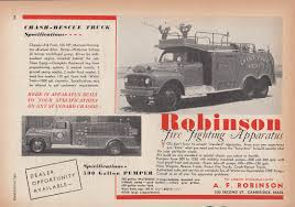 Robinson Crash-Rescue Truck Ford F-8 Fire Truck Ad 1953 Chance ... Water Truck Specifications Suppliers And Spartan Emergency Response Fargo Fire Department Nd 215601 Ford C Series Wikipedia Erv Houston Tx 212901 Trucks Waterford Mi Gmc Tanker Pumper Pumpers Tankers Quick Attacks Utvs Rcues Epworth17 Command Jefferson City Commissions Custombuilt Fire Trucks Iyabii La Bibanoe Ankeny Reliant Apparatus Motor Model 75 Ft Tower Aerial