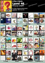 4 Pics 1 Movie Level 46 Game Solver