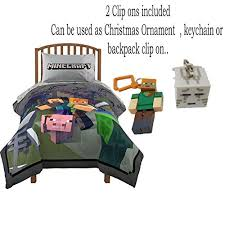 Minecraft Twin Bedding by Minecraft Twin Bedding Bed In A Bag Comforter And Sheet Set With