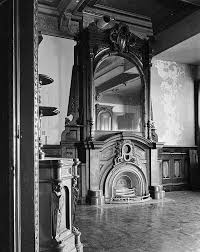 Lockwood Mathews Mansion Dining Room Fireplace