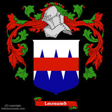 Leonard Coat Of Arms Family Crest