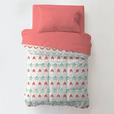 Aqua And Coral Crib Bedding by Grey And Aqua Chevron Bedding Tags Grey And Teal Bedding Blush