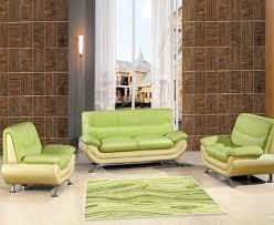 wohnzimmer deko grün natürliche sanfte farbklänge
