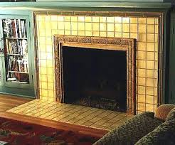 arts and crafts tiles for fireplaces reproduction fireplace arts
