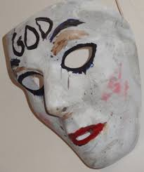 Purge Halloween Mask Uk by The Purge Anarchy God Mask Hand Painted Halloween Prop Brand
