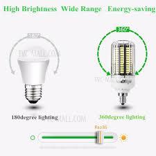 4pcs set youoklight 12w e14 smd 5733 1100lm 136 led corn light