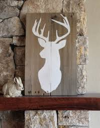 Buck Silhouette - Reclaimed Wood Sign, Deer Art, Rustic Cabin ... Custom Barn Wood Hand Painted Family Names Personalized Sign By Barnwood Signscustom Established Signschristmas Lawn Games Sign Wedding Yard Rustic Wooden Reclaimed Wall Star Graphics Perfect 100 Year Old Signs Custom Bakery Sign45x725 Barnwood Couples Reclaimed Wood Inactive Pixels Vintage 3d Wooden Edison Light Bulbs For Your Home Or Custom Wood Sign Collection Canada Flag Farmhouse Barn Wish Rustic Dandelion Make A