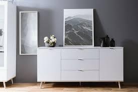 newroom sideboard elia weiß kommode skandinavisch anrichte highboard wohnzimmer schlafzimmer kaufen otto