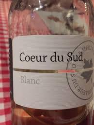 cuisine cor du sud coeur du sud blanc wine info