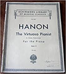 Hanon The Virtuoso Pianist In Sixty Exercises For Piano Book II Vol 1072 Theodore Baker Amazon Books