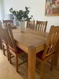 tisch stuhl sets mit bis 6 fürs esszimmer günstig kaufen
