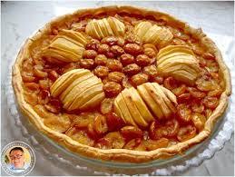 recette tarte mirabelles pommes 750g
