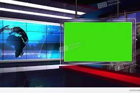 Stock Video Of News Tv Studio Set Shutterstock Download Royalty Free HD Virtual Sets Effects And Lower Thirds Videos Red Background Room