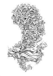 Doodle Invasion Coloring Book By Kerby Rosanes Via Behance