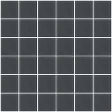 glass tile 2x2 inch gray frosted glass tile