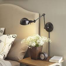 best 25 wall mounted bedside l ideas on bedside