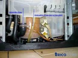 bac a sel lave vaisselle fuite sécurité sur lave vaisselle