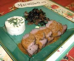 cuisiner la biche rôti de biche aux chignons des bois recette de rôti de biche