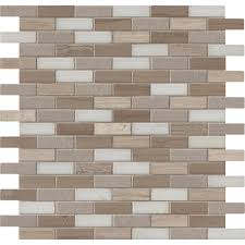 Home Depot Wall Tile Sheets by Ms International Arctic Storm 12 In X 12 In X 10 Mm Honed Marble