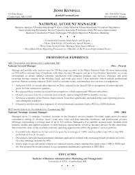 Sales Manager Job Description Resumes