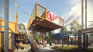 104 Shipping Container Design Gallery Of Egyptian Architects Housing For Cairo 4