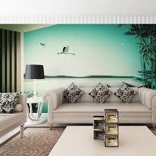 Custom Home Decor Behang Wall Murals Living Room TV Papers 3d Landscape Photo Wallpaper Muralself Adhesive Vinyl Optional In Wallpapers From